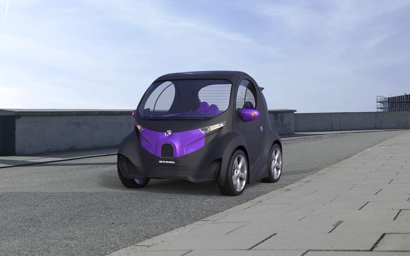 Создатель суперкара Himera показал новый компактный электрокар Kugel