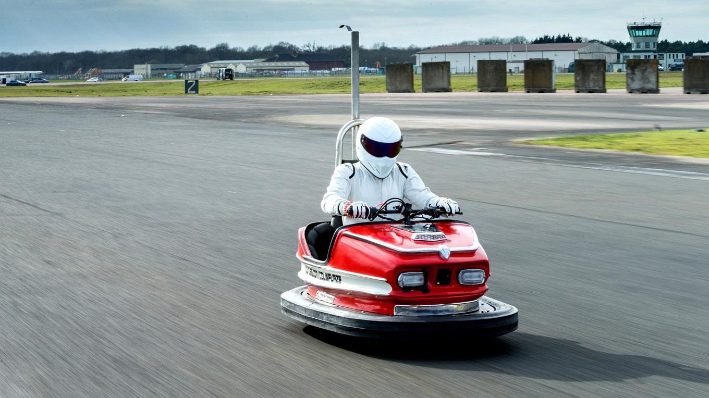 Стиг установил рекорд скорости на автомобиля для аттракционов