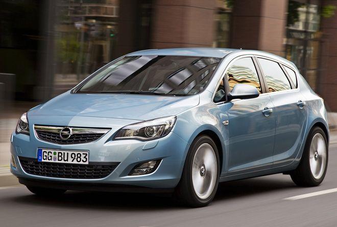 Opel Astra — экстерьер