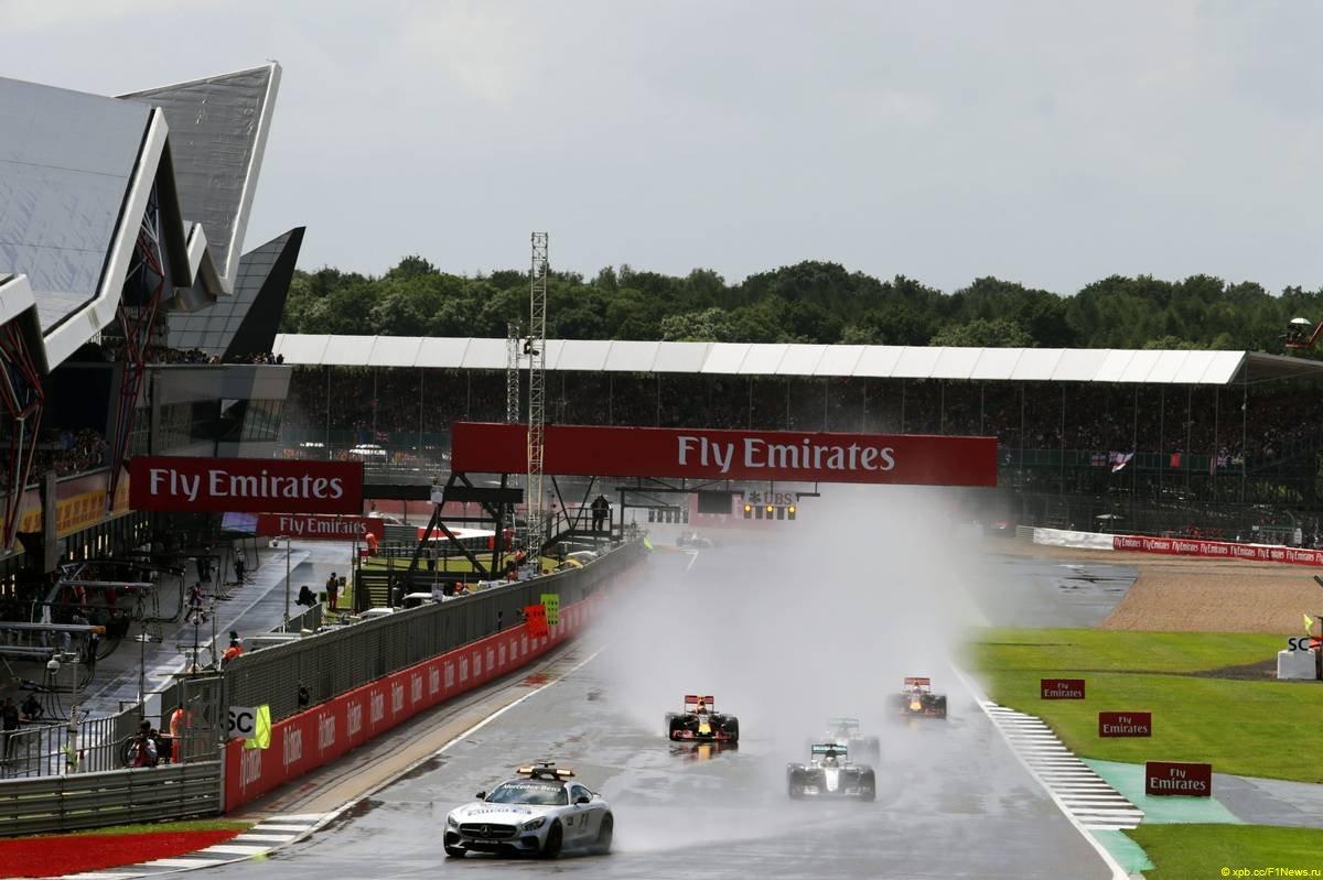 Формула-1 Гран При Великобритании: дождь, апелляция и новый лидер