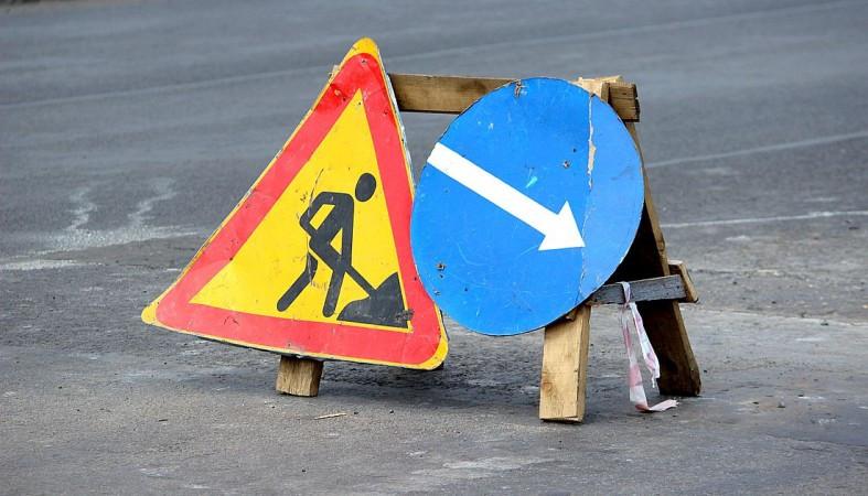 На перекрестке улицы Стройиндустрии с Набережно-Печерской дорогой 7 и 8 августа ограничат движение