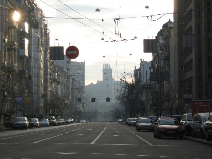 В центре Киева вечером 11 июня будет ограничено движение