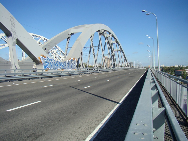Транспортные потоки через Днепр будут выведены к Дарницкому мосту