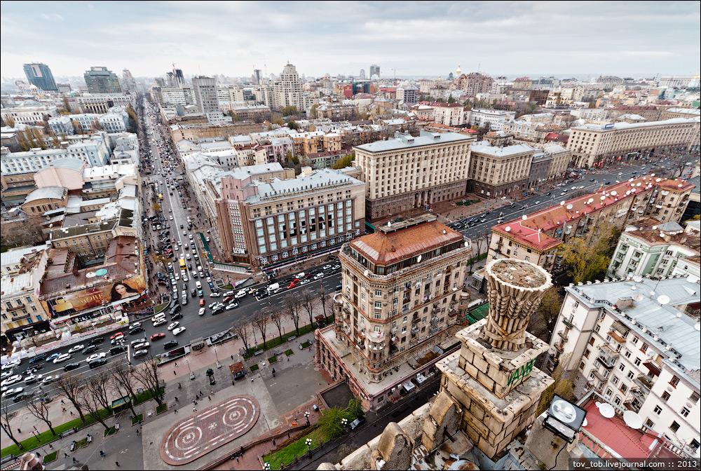В Киеве в среду ограничат движение (список улиц+карта)