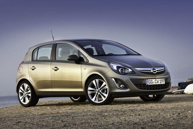 Opel Corsa — экстерьер