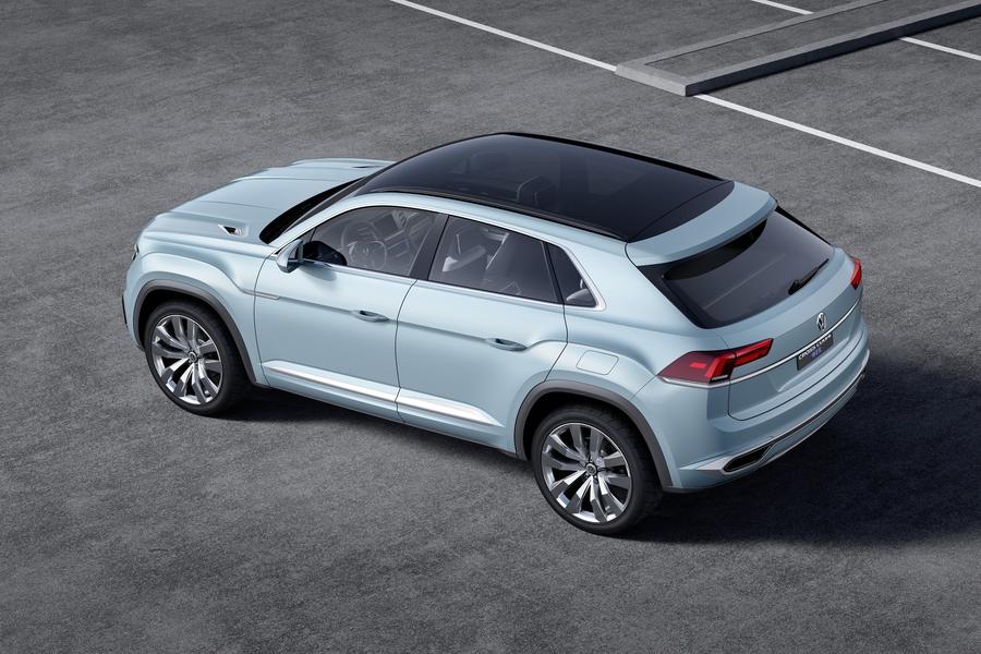 Китайская Zotye позаимствовала дизайн кроссовера у Volkswagen