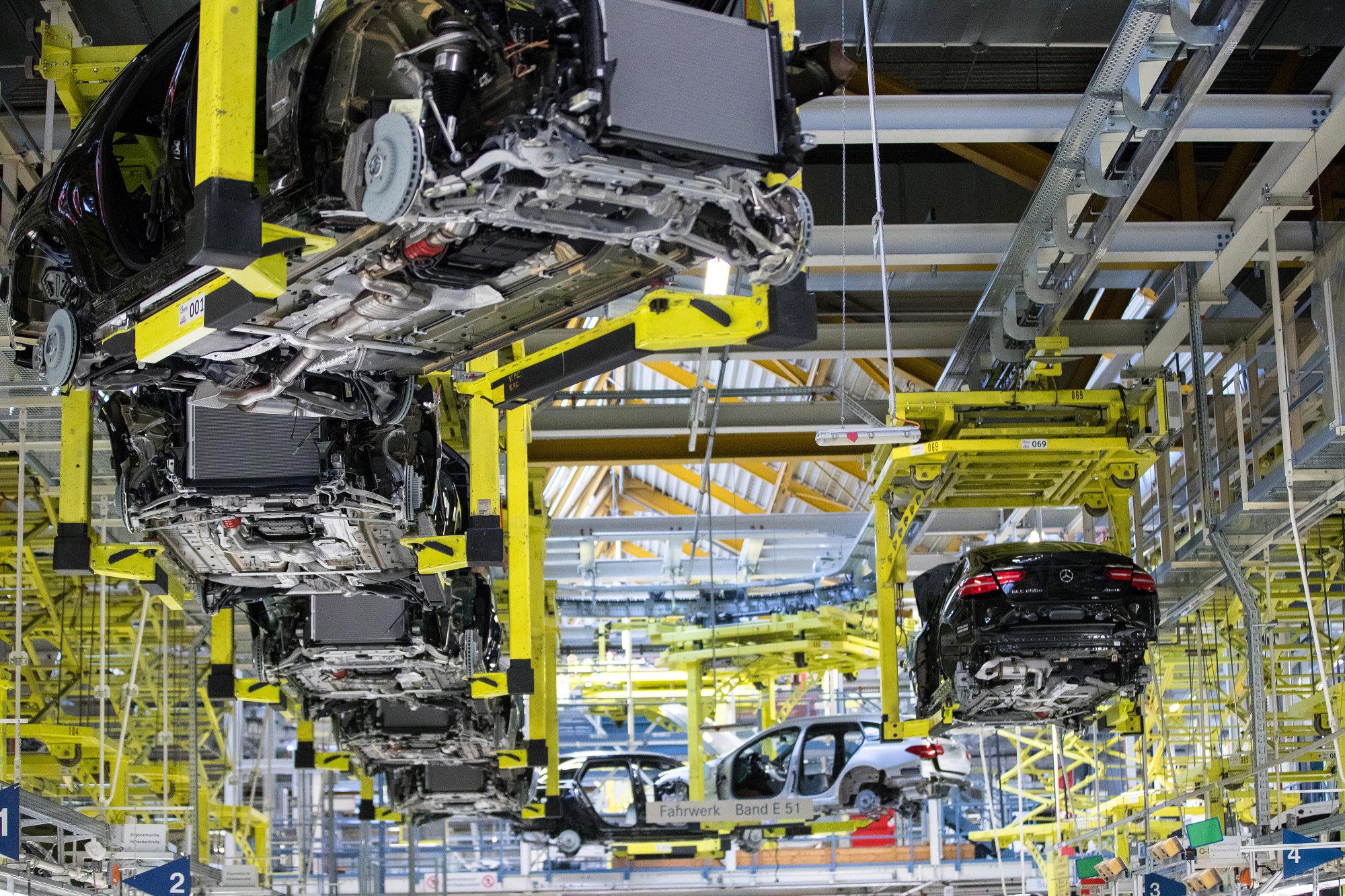 Daimler и BMW будут совместно производить автокомпоненты