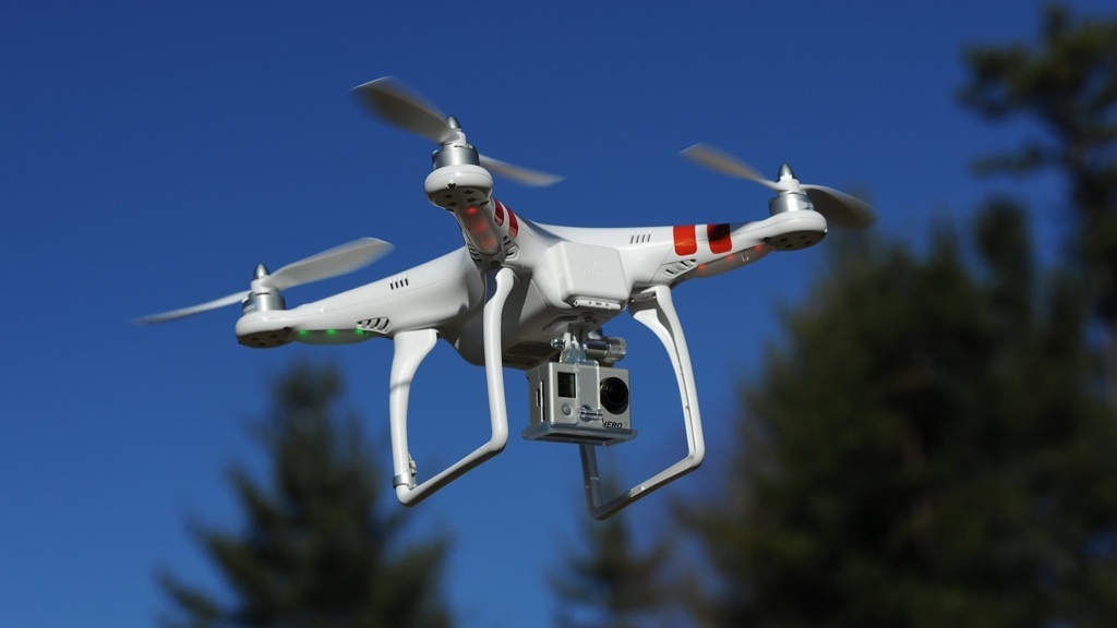 Полиция использовала самолет и квадрокоптеры для поиска автоугонщиков