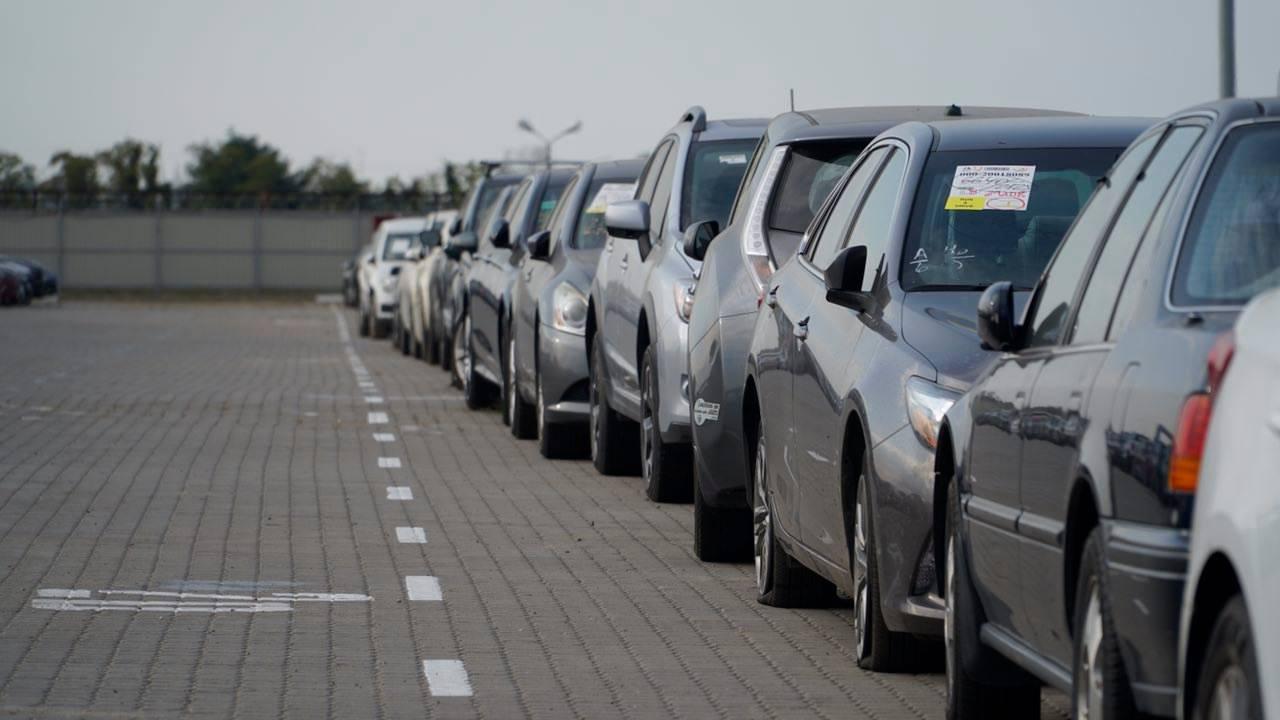 Таможня оформила по новым правилам тысячный автомобиль с иностранной регистрацией
