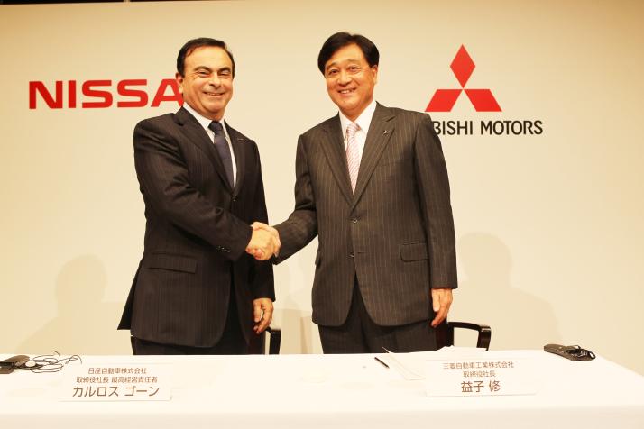 Mitsubishi Motors переходит под крыло Nissan Motor