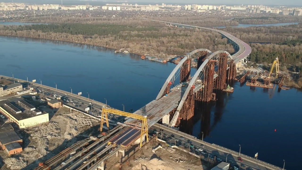 На Левом берегу Киева хотят построить новую магистраль
