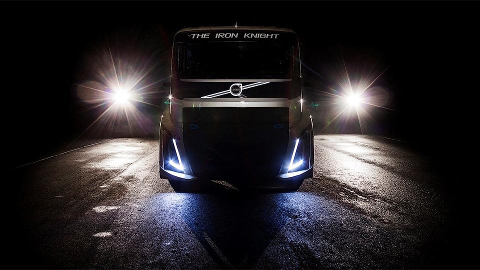Тягач Volvo установит новые рекорды скорости