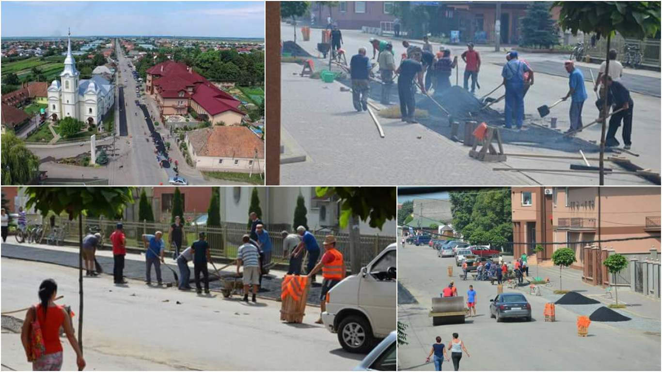 Жители закарпатского села самостоятельно отремонтировали дороги