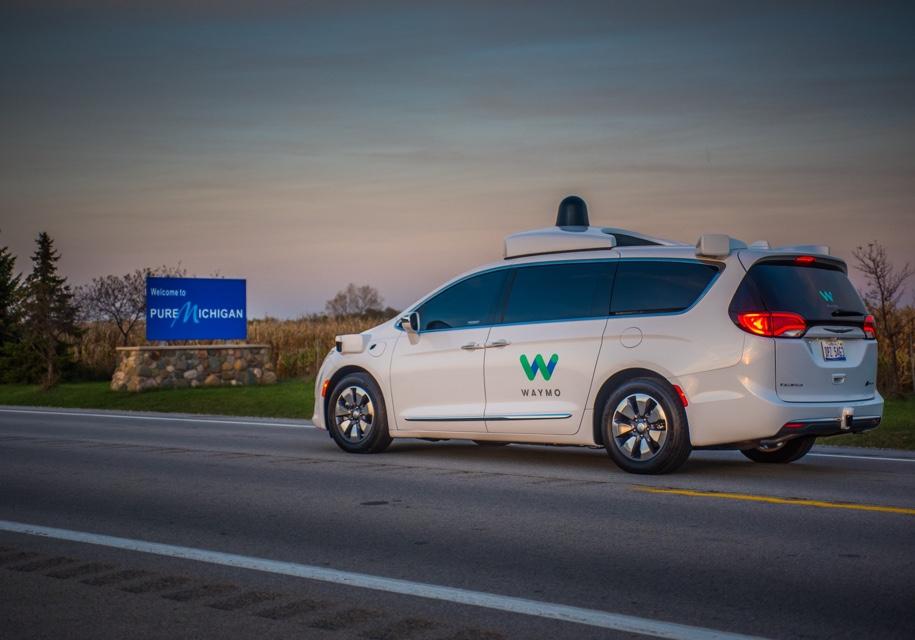 Google испытает беспилотники назимних трассах вМичигане
