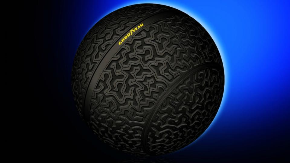 Good Year представила сферическое колесо для автомобиля (видео)