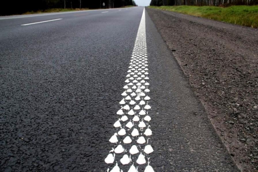 В Минрегионе предложили проектировать дороги с использованием шумовой и люминесцентной разметки