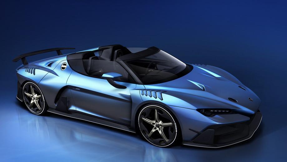 В Женеву привезут юбилейный суперкар Zerouno Targa