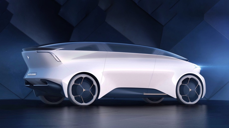 Icona представит шаттл Nucleus с автопилотом пятого уровня