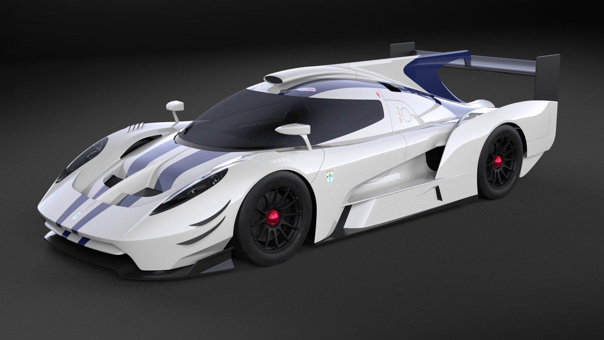 Спортпрототип SCG 007 LMP1 примет участие в гонке «24 часа Ле-Мана»