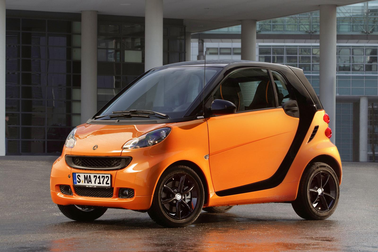 Smart больше не будет выпускать автомобили с ДВС