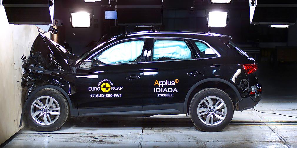 Euro NCAP провел краш-тесты шести новых моделей
