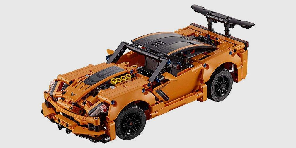 Спорткар Chevrolet Corvette ZR1 теперь можно собрать из Lego