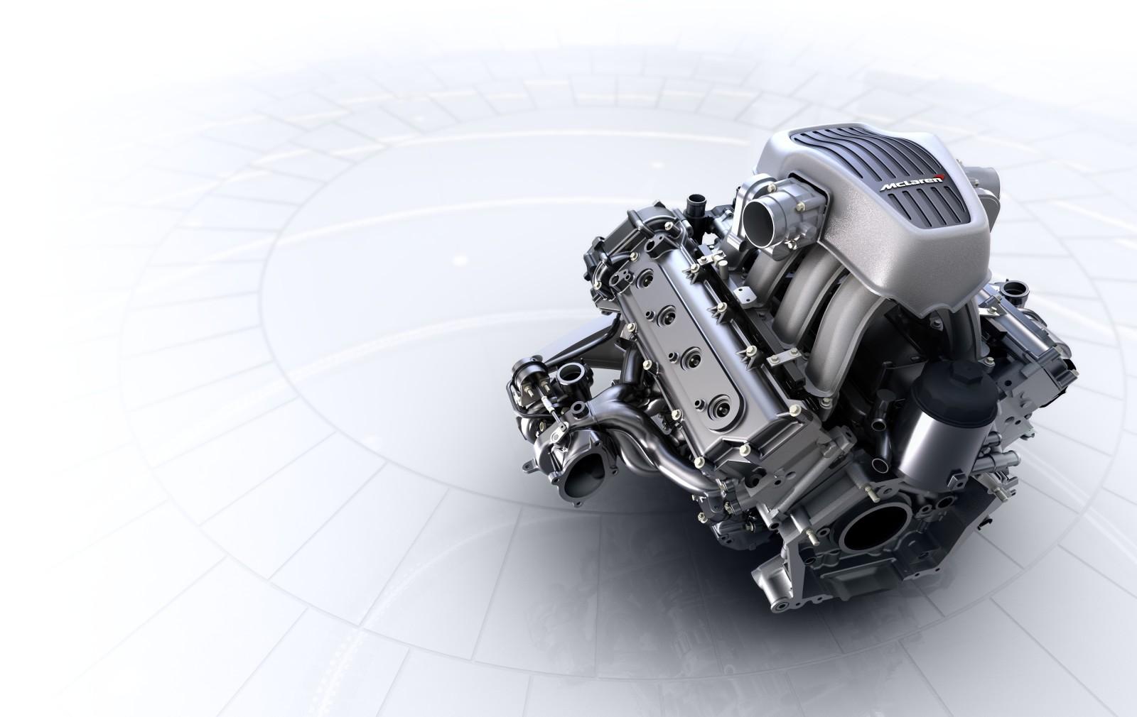 McLaren и BMW разработают ДВС нового поколения