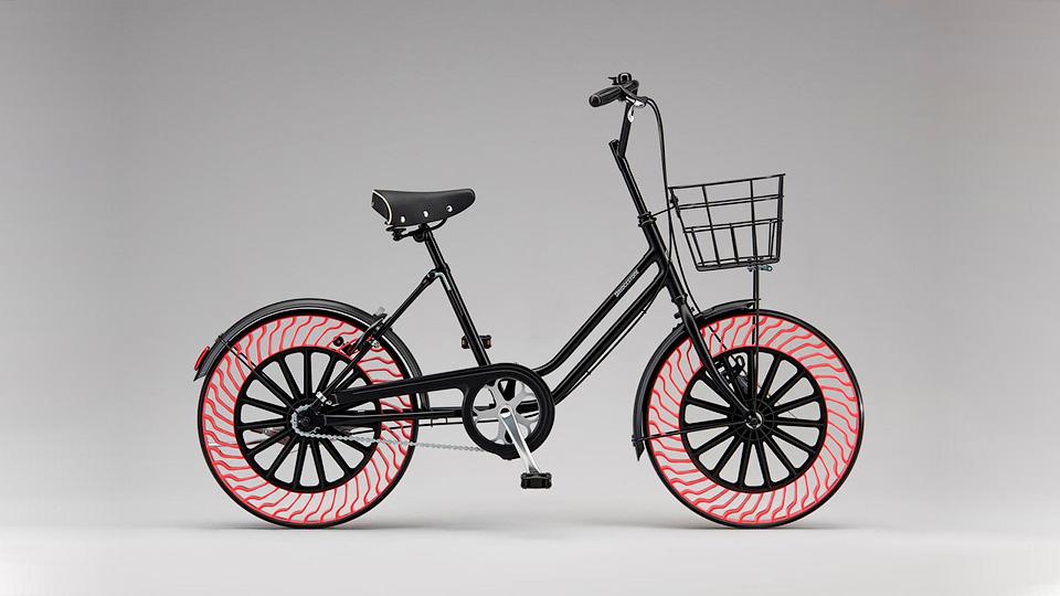 Инженеры представили безвоздушные шины для велосипедов