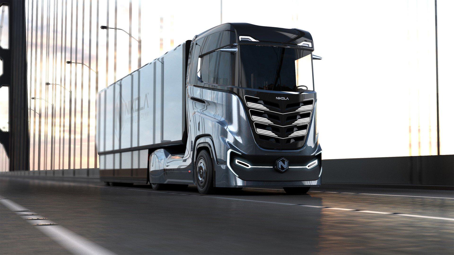 Фирма Nikola Motor создала водородно-электрический грузовик для Европы