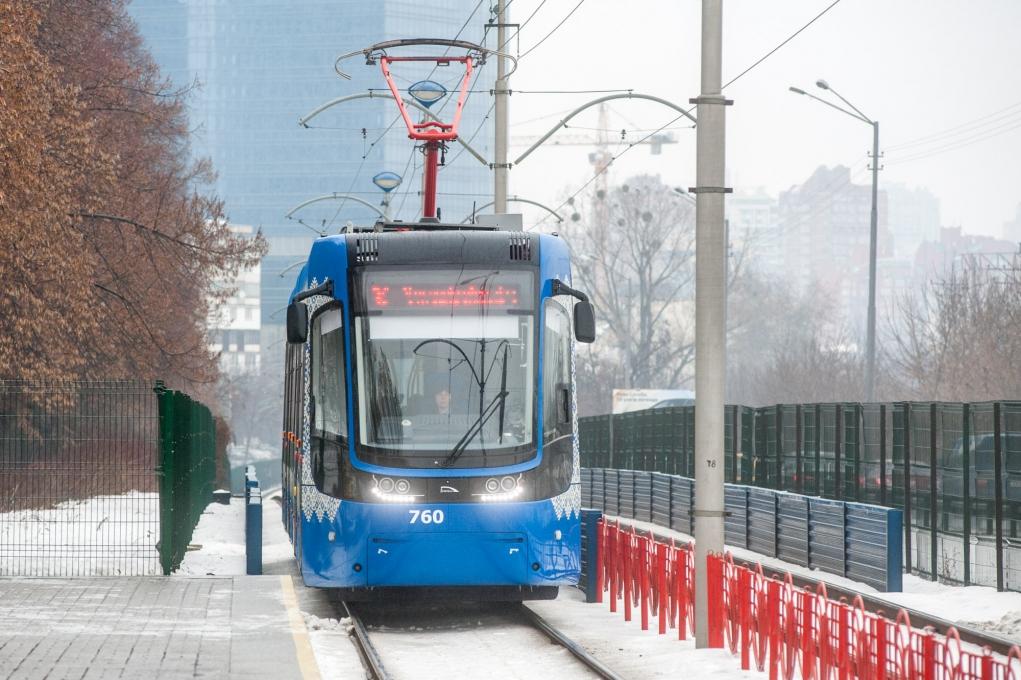 Центральные улицы Киева отдадут трамваям
