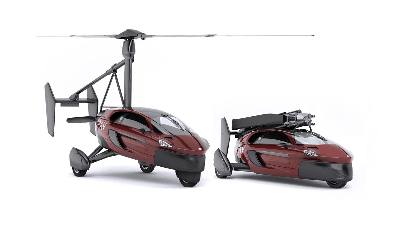 Названа стоимость серийного летающего автомобиля PAL-V Liberty