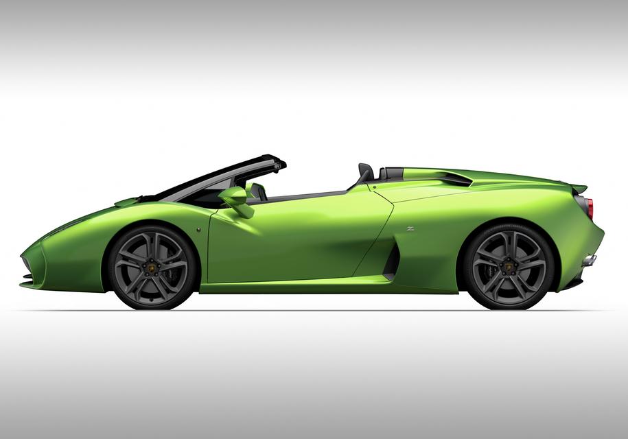 Тюнеры из Zagato превратят старый Lamborghini в родстер