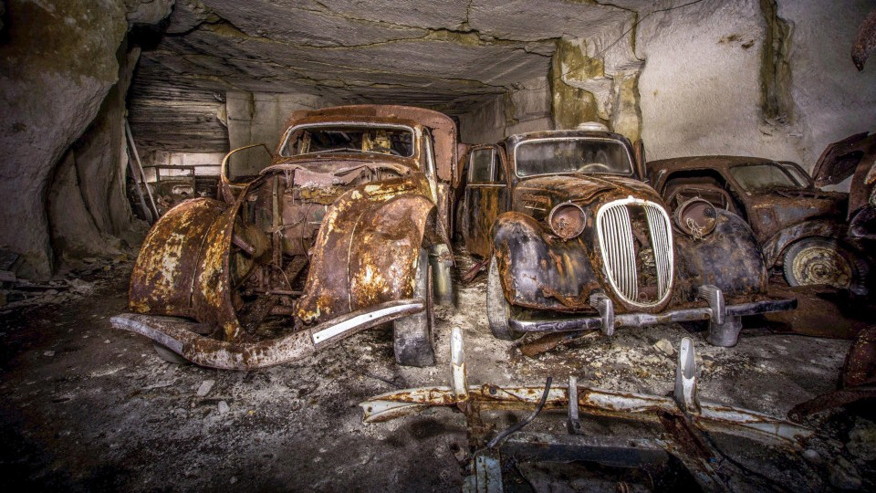 Во Франции нашли автомобильное убежище времен Второй мировой войны