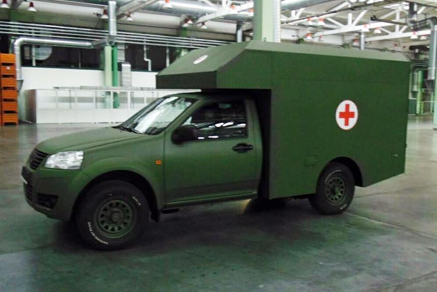 Санитарный автомобиль Богдан-2251 успешно прошел испытания Минобороны