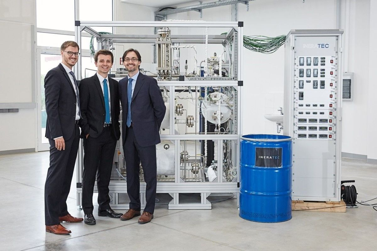Европейские ученые создали станцию для получения топлива из воздуха