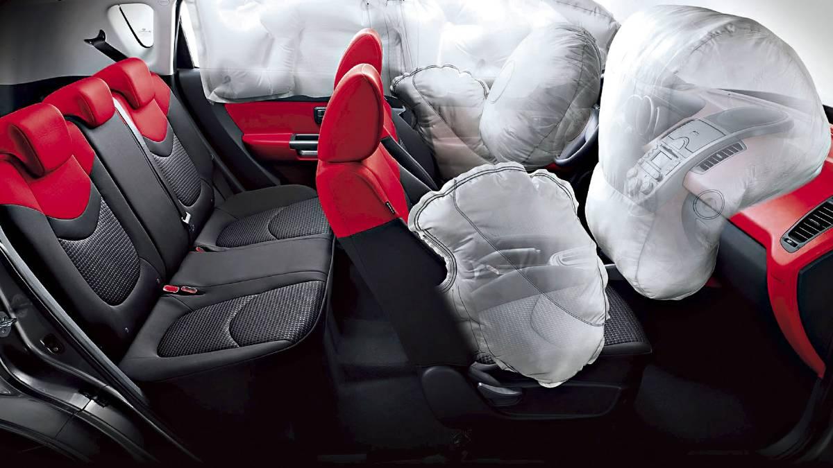Ford запатентовал подушку безопасности в потолке