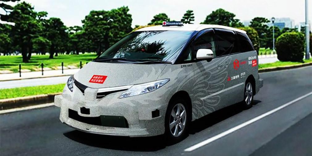В Токио появился сервис беспилотного такси