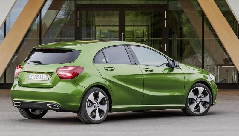 Компактные Mercedes-Benz получат «взрослые» опции