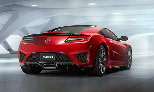 Acura NSX задерживается