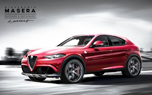 Alfa Romeo раскрыла название нового кроссовера