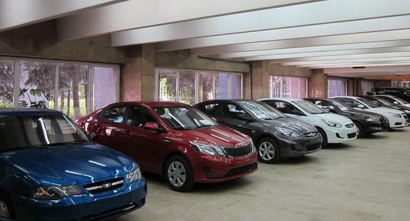 Распределение продаж новых автомобилей по областям Украины