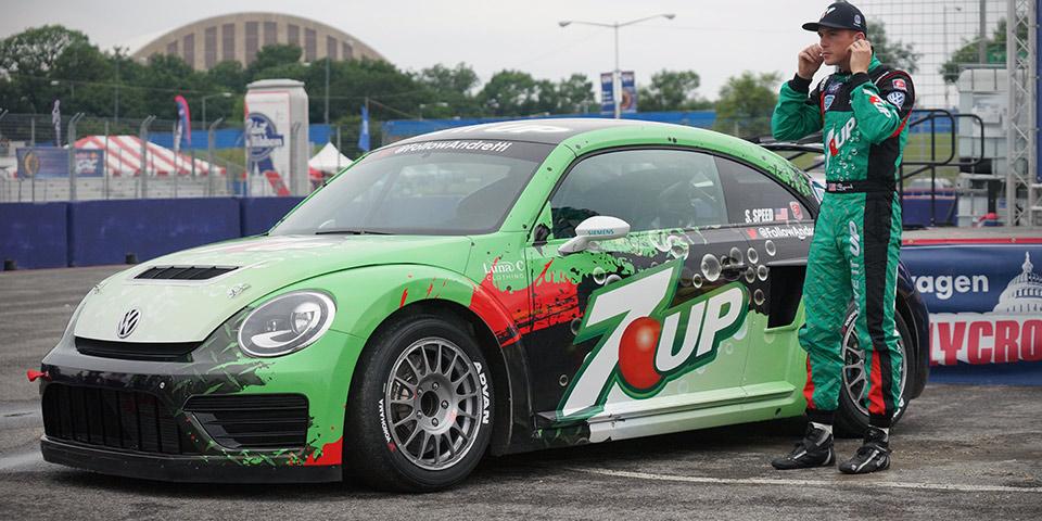 Volkswagen предложил бесшумные соревнования по ралли-кроссу