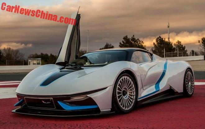 Beijing Auto выпустила электрический суперкар
