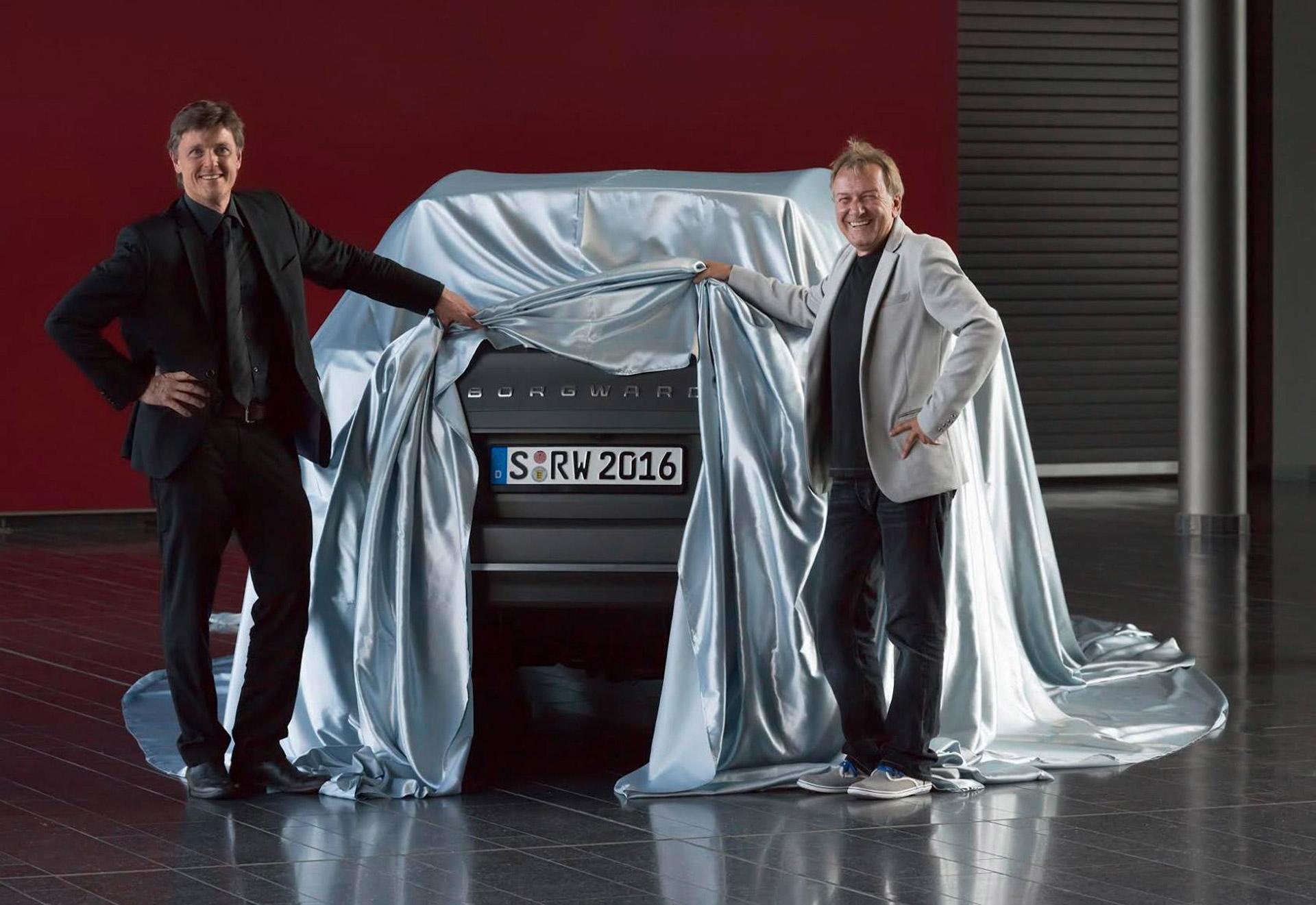 Немецкий бренд Borgward возродится с кроссовера