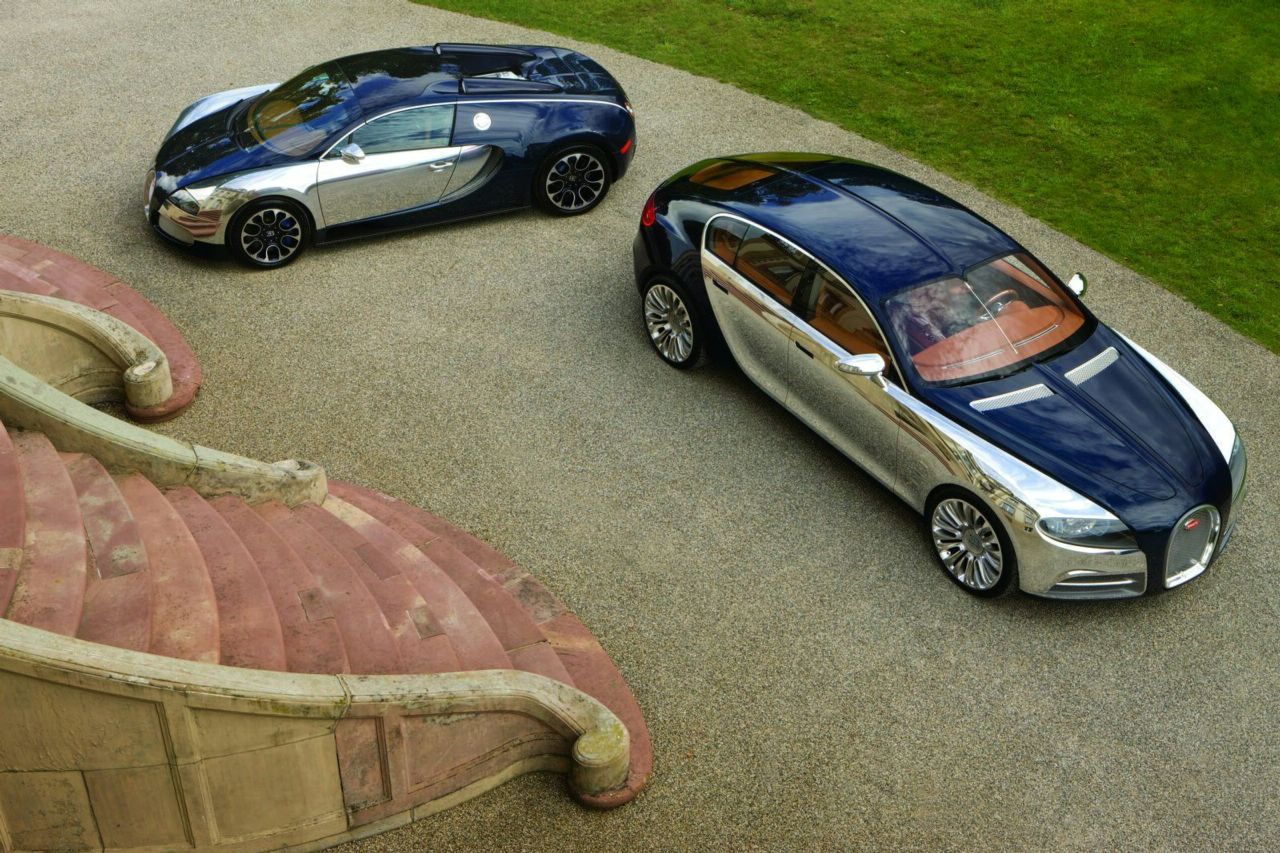 Bugatti воскресит фастбэк Galibier