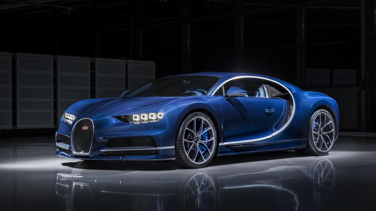 Bugatti продала половину тиража модели Chiron