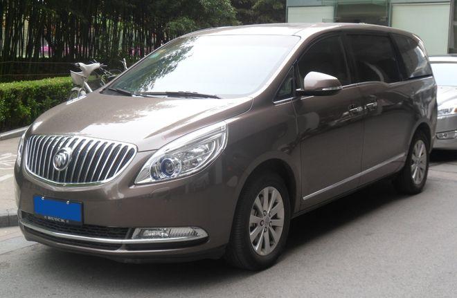 Buick GL8 — дизайн кузова