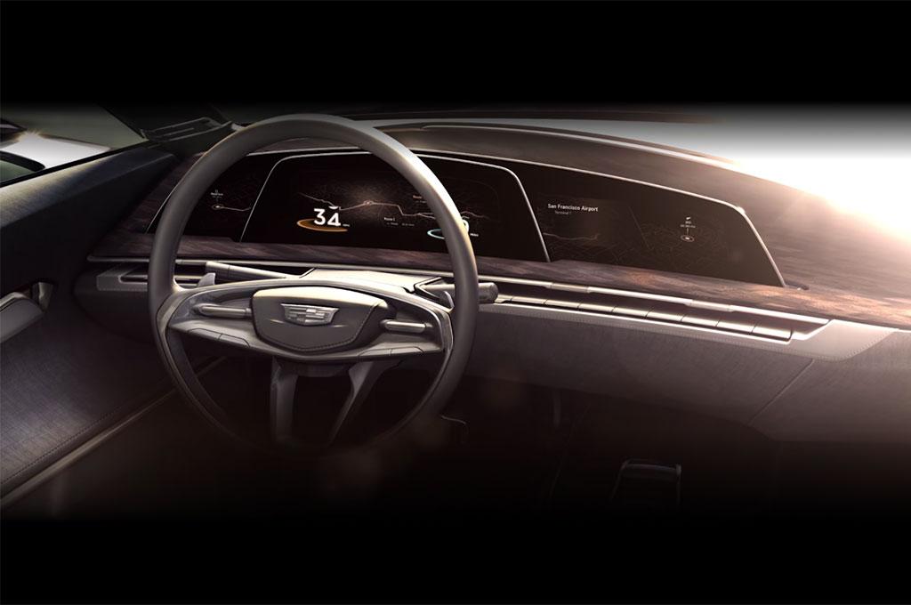Автомобили Cadillac оснастят OLED-дисплеями