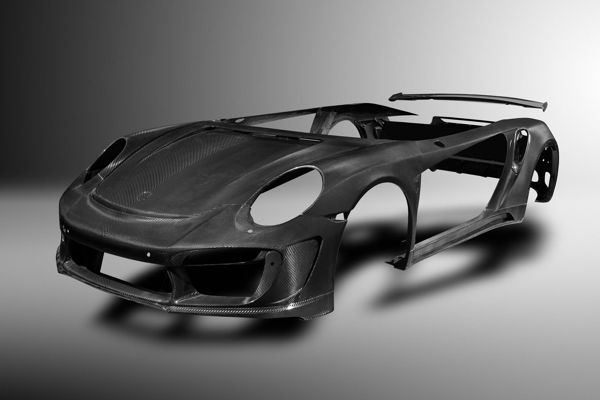 Для Porsche 911 сделали кузовной обвес за 40 тысяч евро