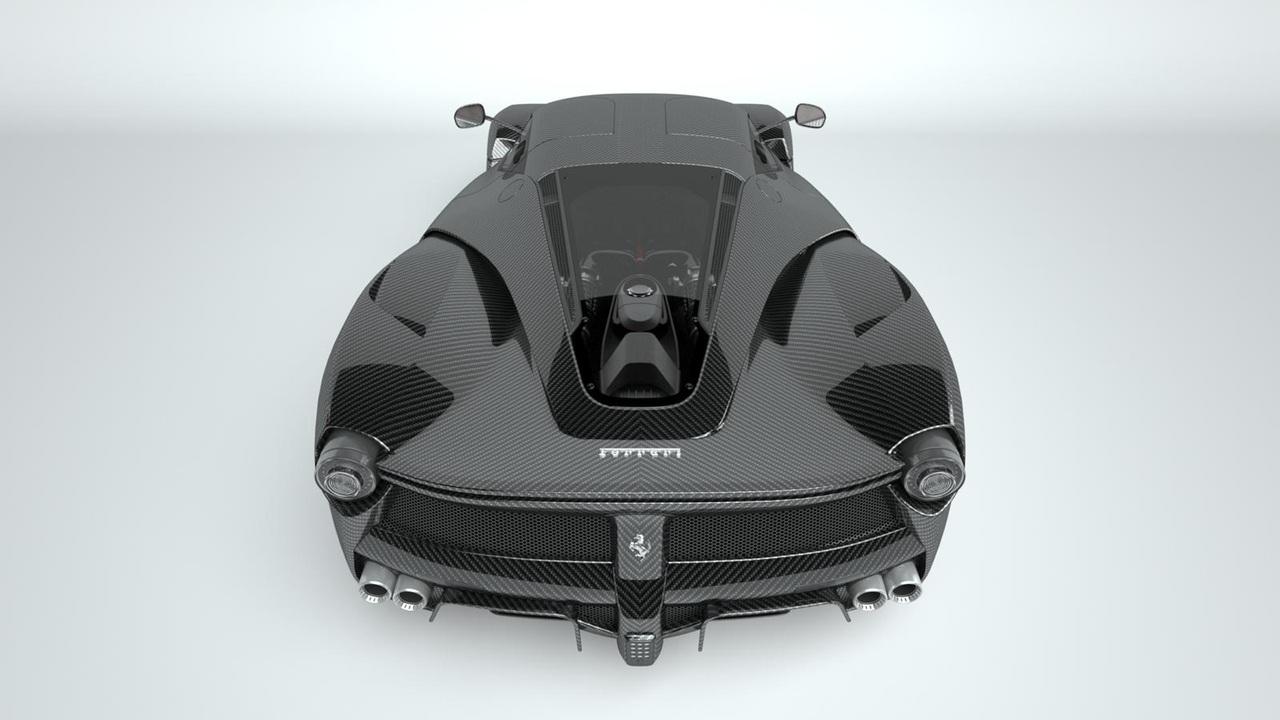 Carbon Ferrari